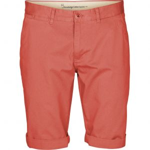 Knowledge Cotton Apparel  Chino ---Shorts spiced coral