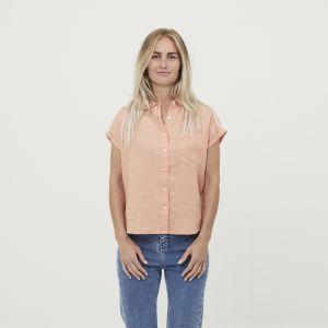 KnowledgeCotton Apparel ASTER linen shirt shirt