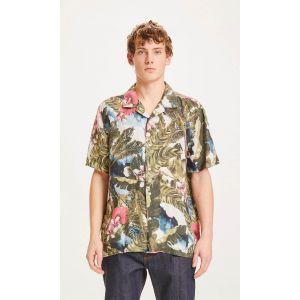 Knowledge Cotton Apparel WAVE linen shirt