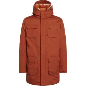 Arctic Canvas parka jacket Rust
