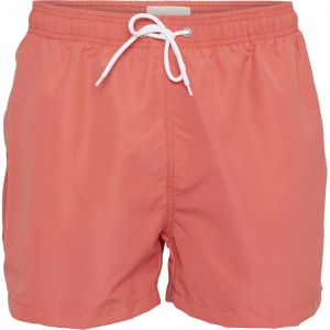 Knowledge Cotton Apparel Badehose spiced coral