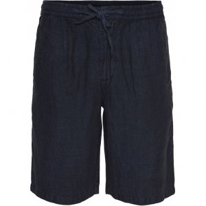 Birch-loose-linen-Shorts-Total-Eclipse-Main