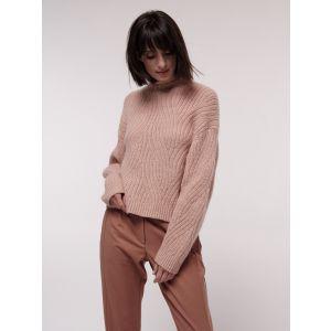 Damen-Pullover-mit-Rippenzopfmuster-Lanius-populi-mode-1