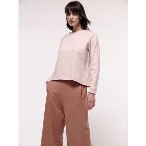 Damen Raglansweatshirt aus Bio-Baumwolle rose