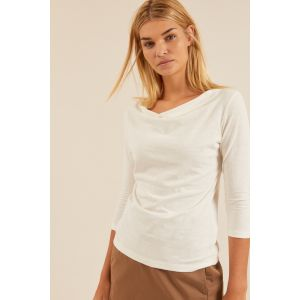 Lanius Wasserfallshirt off white