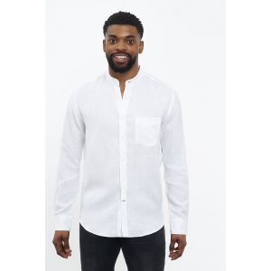 Carpasus Shirt Linen Lisbon White