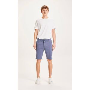 KnowledgeCotton Apparel CHUCK regular shorts vintage indigo
