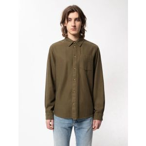 Nudie Jeans Co CHUCK Fluid Twill Army